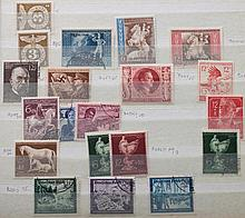 Two stockbooks: worldwide postage stamps