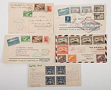 Five Latin American Graf Zepp. itemss, May, 1930