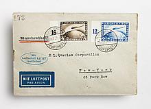 German Graf Zeppelin cover, October, 1928