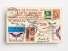 Swiss Graf Zeppelin cover, August, 1929