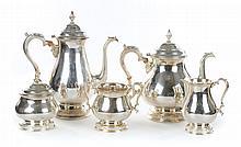 International sterling 5-piece coffee/tea service