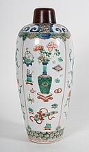 Chinese Export Famille Verte porcelain jar
