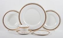Royal Worcester china 74-piece dinner service