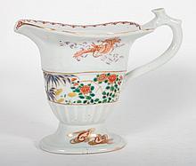 Chinese Export porcelain helmet pitcher