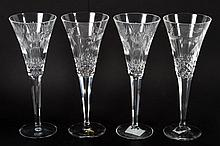 Two pairs of Waterford crystal
