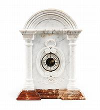 Classical style marble mantel clock