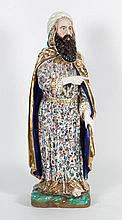French porcelain figure of a magi