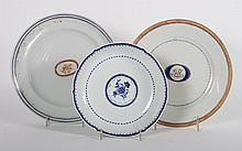 3 Chinese Export porcelain articles