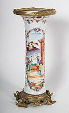 Chinese Export vase in the Mandarin Palette