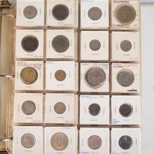 [World] Foreign Coin Notebook