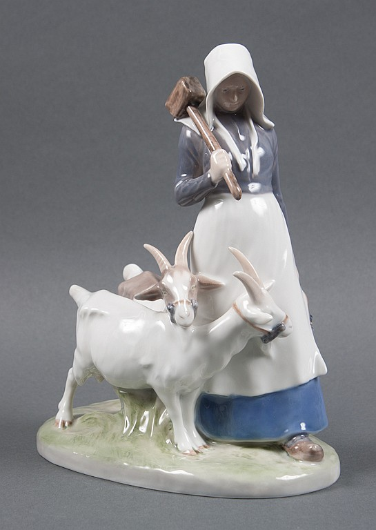 Royal Copenhagen porcelain figural group: