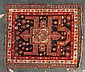 Antique Caucasian prayer rug, Caucasus, circa 1900, approx. 3.4 x 4