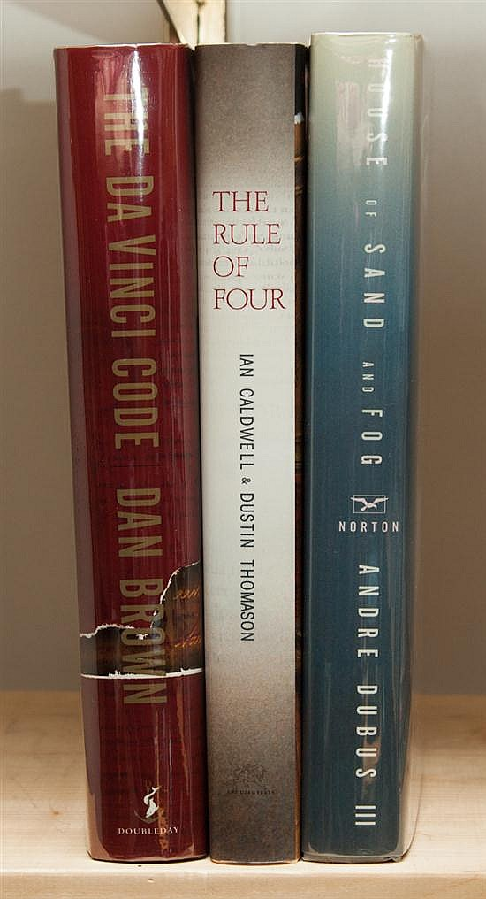 [Literature] Three signed first editions, each with dust jacket