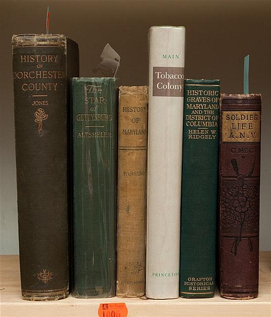[Americana] Six Titles concerning Virginia and Maryland