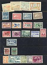1926-51 M range of better sets/items incl. 1926 Air set - odd faults (Cat. £90), 1933