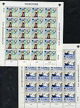 1977 Fishing Vessels in complete sheets of twenty & 1978 Year of the Child in sheets