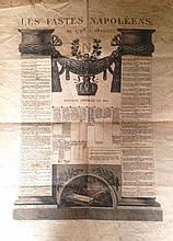 Les FASTES NAPOLEENS de 1796 à 1821 <br> Dynastie Impériale en 1814.  <br> Planc