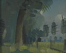 ALFRED RETH (1884-1966) PAYSAGE Huile sur panneau Signée en bas à droite 22