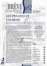 ROBERT COMBAS   (NE EN 1957)  L'ACHETEUR DE TABLEAU, 1992  Encre sur papier
