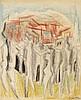 OSSIP ZADKINE (1980-1967)  - LES ANGES AUX PORTES DE JÉRUSALEM, 1961