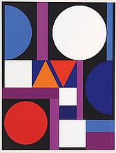AUGUSTE HERBIN (1882-1960)  UNITE  Sérigraphie en couleurs
