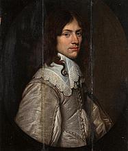 JACOB VAN DER MERCK ('s-Gravendeel 1610 – Leyde 1664) Portrait d'homme à l'habit gris Panneau de chê