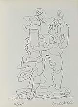 OSSIP ZADKINE (1890-1967) PRENDS..., 1978 <br> Planche illustrant