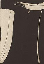 OLIVIER DEBRE (1920-1999) SANS TITRE, 1999 <br> Eau-forte en noir