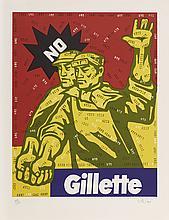 WANG GUANGYI (NE EN 1957) <br> GREAT CRITICISM-GILETTE, 2006 <br>