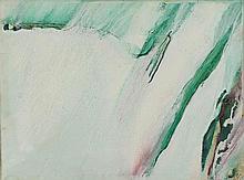 OLIVIER DEBRE (1920-1999)  BLANC DE MARS, 1973