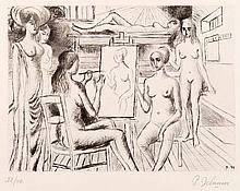 Paul Delvaux : L'oeuvre gravé par Mira Jacob