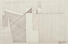 Gaston Bertrand (1910 - 1994) Etude de surface I,