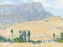 Fernand Lantoine (1878 - 1955) Jaca, Espagne Gouac