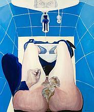 Daniel Bruniaux (né en 1939) Autoportrait occupé,
