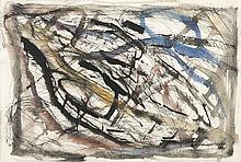 Luc Mondry (1938 - 1999) Sans titre, 1979 Aquarelle