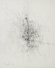 Jules Lismonde  (1908 - 2001) Frescobaldi VI, 1980