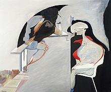 Daniel Bruniaux (né en 1939) Jour - Nuit, 1987 De