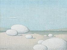 Bernard Ghobert (1914 - 1975) Paysage d'un autre m