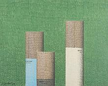 Bernard Ghobert (1914 - 1975) Les trois cigarettes