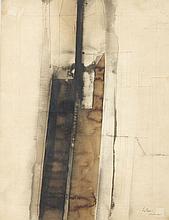 Luc Mondry (1938 - 1999) Sans titre (Sénanque), 1.