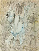 Jean Milo (1906 - 1993) Le grand chat bleu longeai
