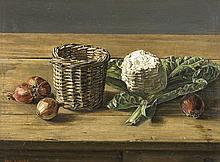Jos Albert (1886 - 1981) Le fromage blanc Huile su