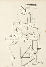 Pierre-Louis Flouquet (1900 - 1967) Sans titre (La