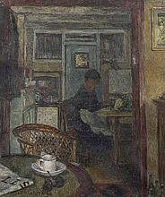 Henri Le Roux (1872 - 1942) La cuisine à Auderghem