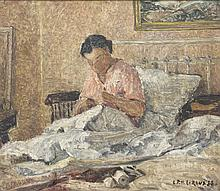 Henri Le Roux (1872 - 1942) Convalescence, 1938 Hu