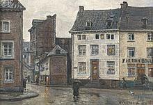 Maurice Pirenne (1872 - 1968) Rue du Pont de Somme