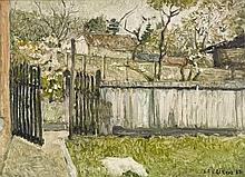 Henri Le Roux (1872 - 1942) Landelies, 1938 Huile
