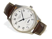 Wristwatch: sportive gentlemen's watch Longines Master Collection Power Reserve ref. L2.666.4, stainless steel (NO LIVE FEE)