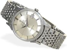 Wristwatch: Omega Constellation automatic chronometer, stainless steel, from 1963 (NO LIVE FEE)