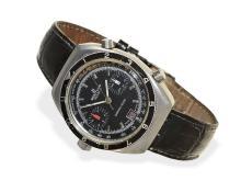 Wristwatch: chronograph Breitling Chronomatic ref. 2112 ca. 1970 (NO LIVE FEE)
